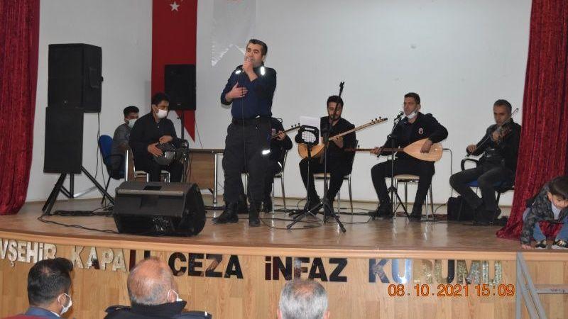 Nevşehir Cezaevinde moral gecesi düzenlendi