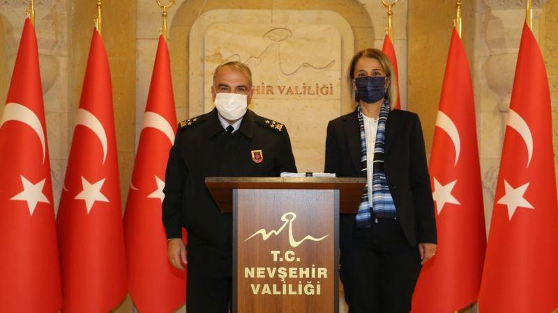 Tümgeneral Halis Zafer Koç'tan, Vali Becel'e ziyaret
