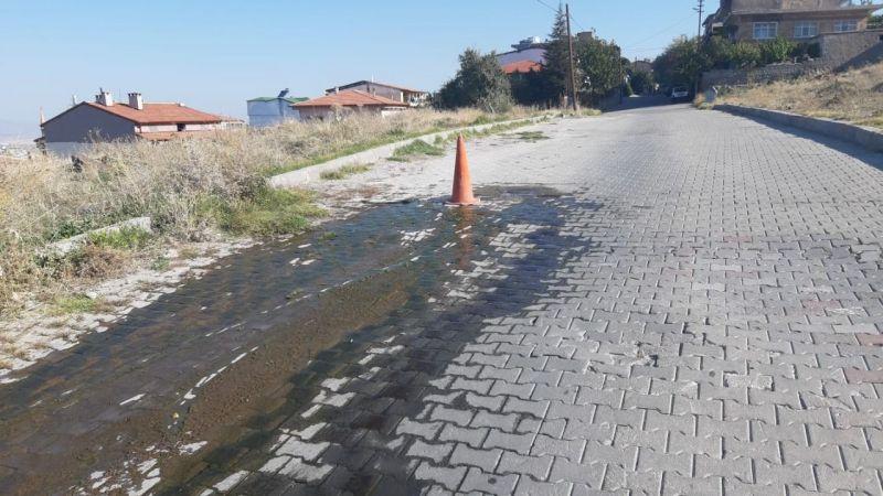 Mahalleli Nevşehir Belediyesine tepkili!