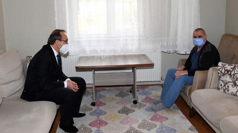 Vali Yavuz'dan 17 yılda 86 bin aileye ziyaret