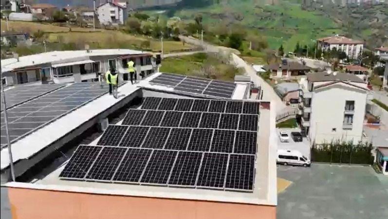 Kocaeli'de bir ilk: BİLNET, kendi elektriğini üretiyor