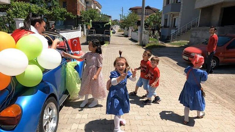 Başiskele Belediyesi bayram çocuklarını unutmadı