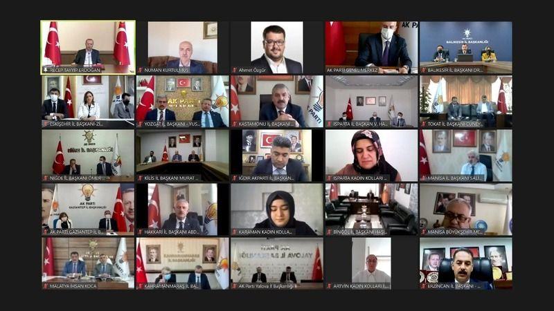AK Parti Kocaeli, Erdoğan'la bayramlaştı