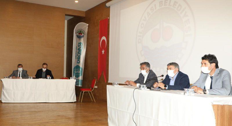 Başkan Şayir'den mecliste müjde üstüne müjde