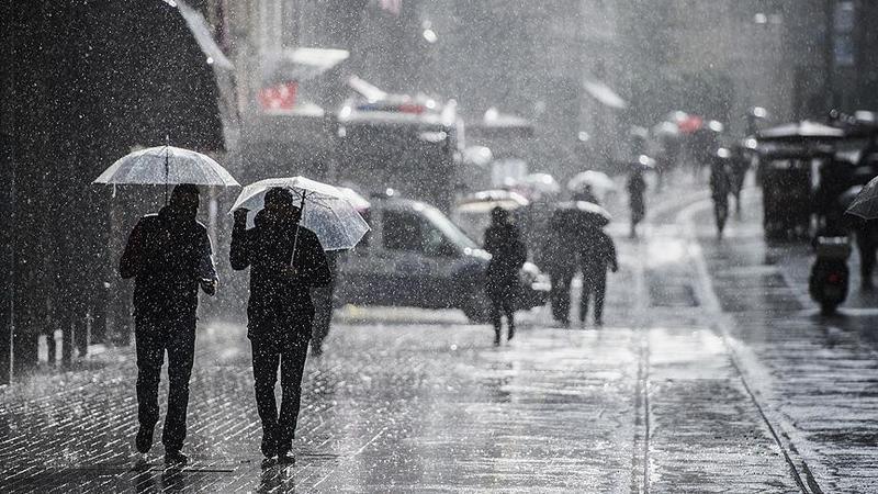 Kocaeli'ye kuvvetli yağış uyarısı