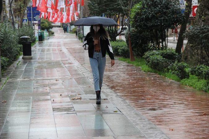 Kocaeli'ye gök gürültülü sağanak yağış geliyor