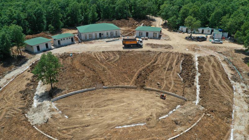 Tepecik Mesire alanı açılışa hazırlanıyor