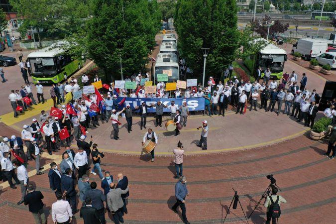 Ulaşım Park çalışanlarına yüzde 45 zam