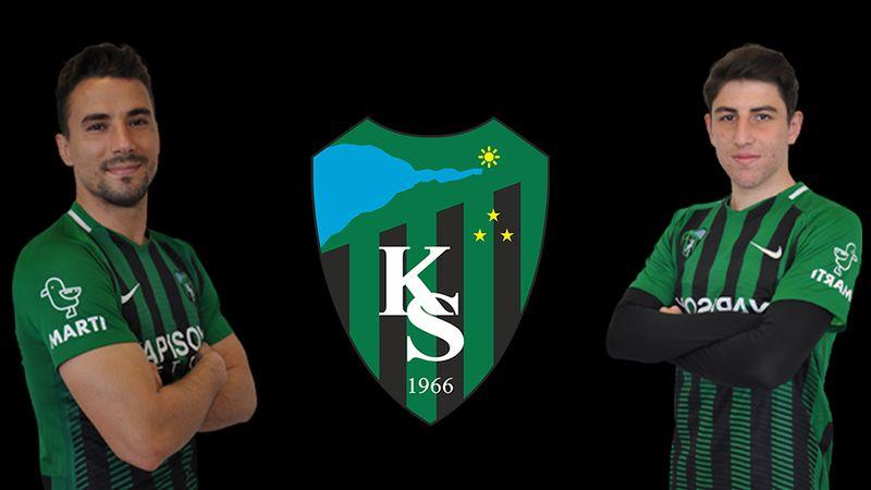 Kocaelispor'da 2 futbolcunun sözleşme süreleri uzatıldı