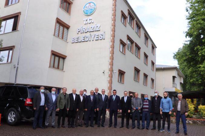 Akar'dan başkanlara ziyaret