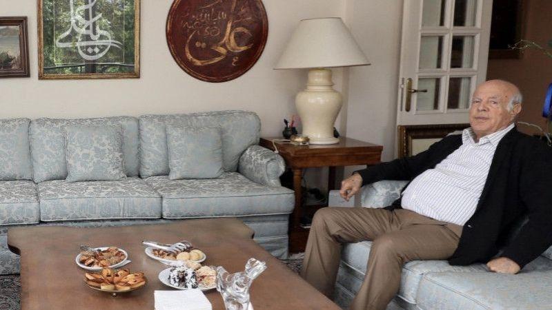Başkan Büyükakın'dan İzzettin Doğan'a ziyaret