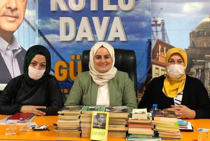 AK Kadınlardan kitap desteği