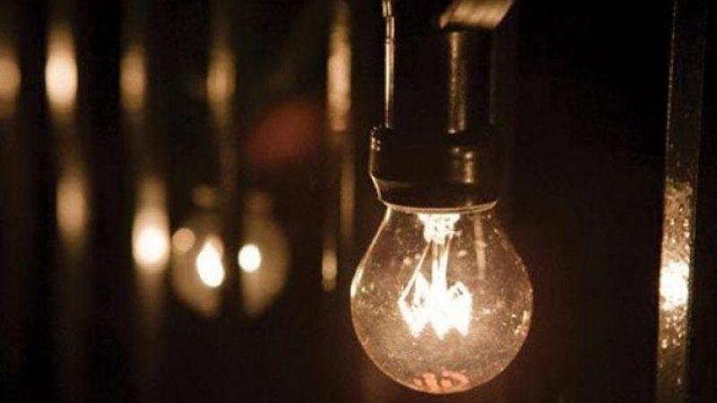 Yarın 6 ilçede elektrikler kesilecek!