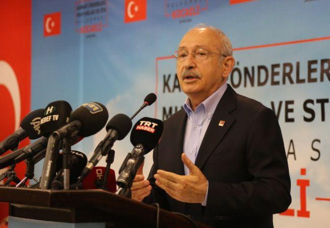 CHP Genel Başkanı Kılıçdaroğlu Gebze'de