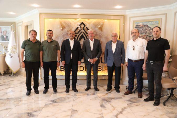 Başkan Şener Söğüt Mardin'de