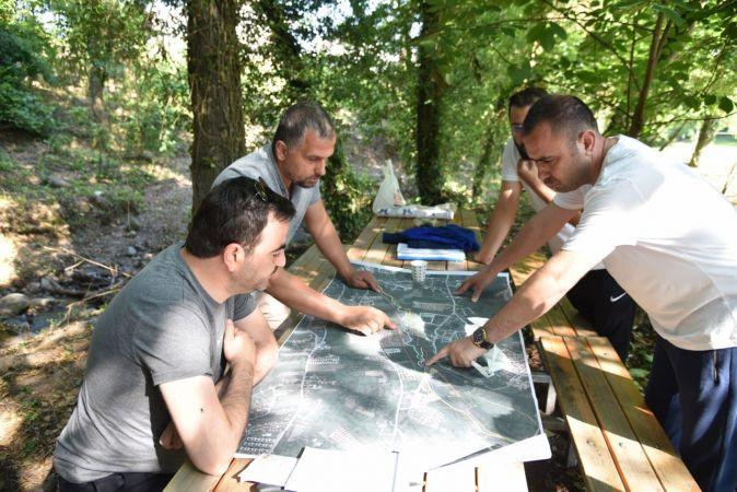 İkinci büyük millet bahçesi Damlar'da çalışmalar sürüyor