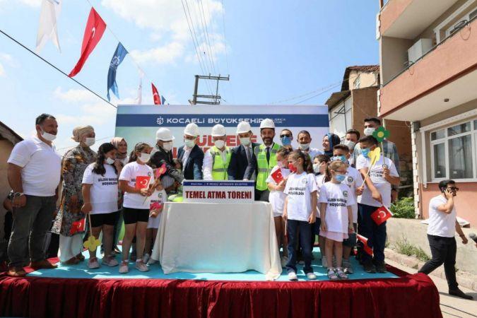 2.5  Milyon TL yatırımla kültür merkezinin temeli atıldı
