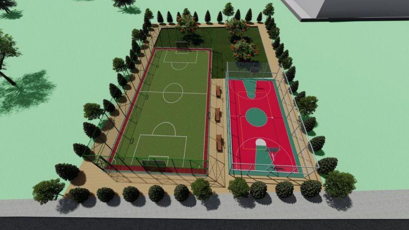 Karadenizliler Mahallesi'ne modern spor alanı