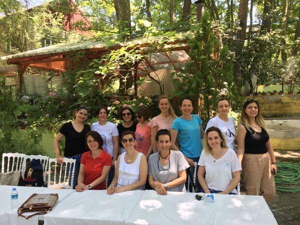 Donanma İlkokulu öğretmenlerinin yıl sonu pikniği