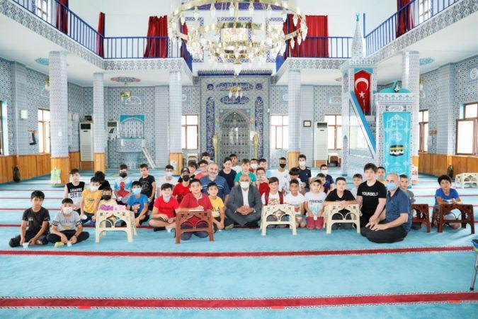Başkan Söğüt'ten Yaz Kur'an Kursu'na ziyaret