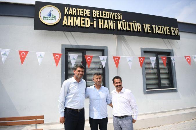 Ahmed-i Hani Kültür ve Taziye Evi hizmete açıldı