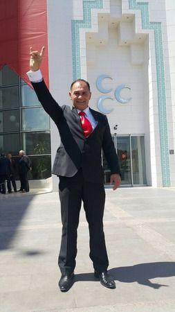Dünya şampiyonu Vedat Akbulut MHP yönetiminde