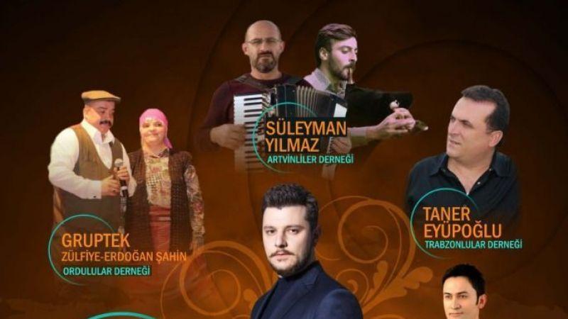 Çayırova'da Karadeniz müziği rüzgarı esecek