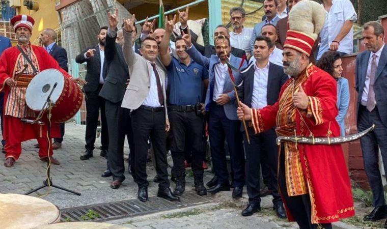 Bozkurt işareti yapmıştı: O polis memuruna soruşturma açıldı