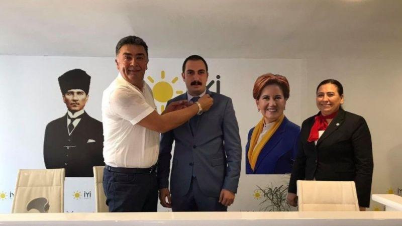 Cihan Özer İYİ Parti'ye üye oldu