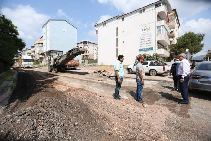 Derince'de çalışmalar 5 mahallede sürüyor