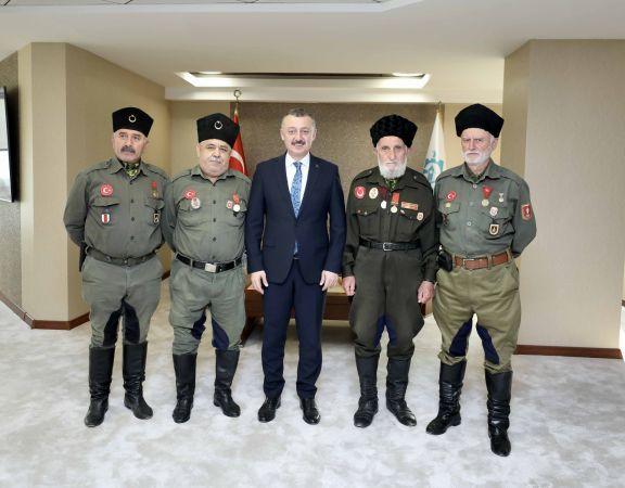 Büyükakın:Türk milleti şehitlik ve gaziliği en büyük rütbe bilmiştir