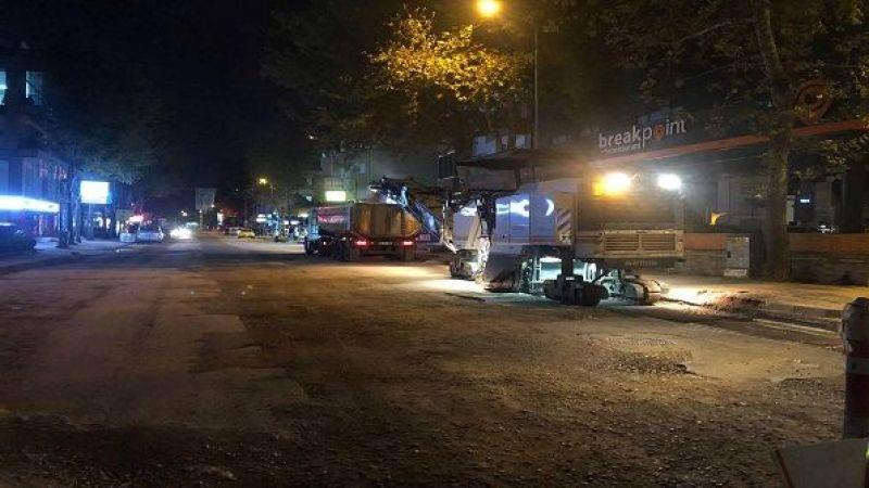 Büyükşehir Yahya Kaptan Seymen Caddesi yeniledi