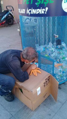 İzmit'te plastik şişeler geri dönüşüme kazandırıldı