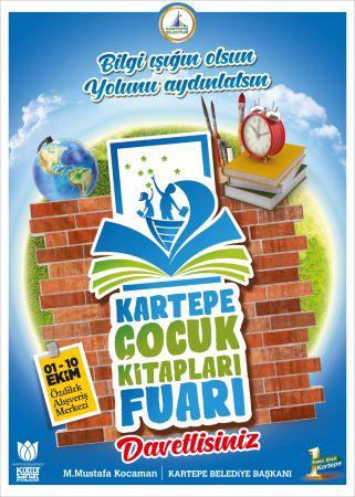 Kartepe'de Çocuk Kitapları Fuarı gerçekleşecek
