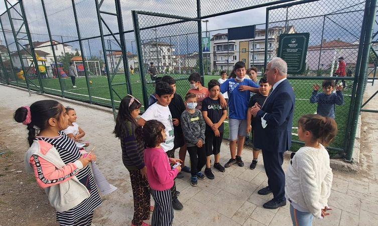 Başkan Aygün'den Gençlik Merkezi'ne ziyaret