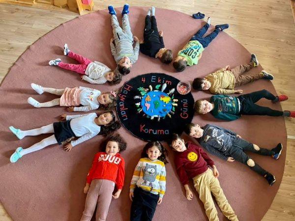 Bilgi Köprüsü Montessori'de yürekleri ısıtan etkinlik