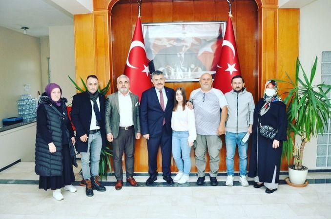 Başkan Şahin'den acılı aileyle beraber Tipioğlu'na ziyaret