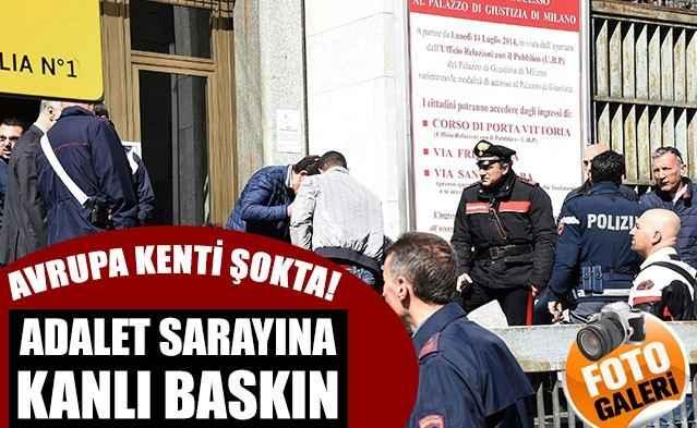 Adalet Sarayı'na kanlı saldırı: 4 ölü