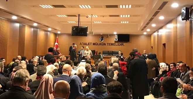 Saadet Partisi heyeti Mavi Marmara davasını yakından izliyor