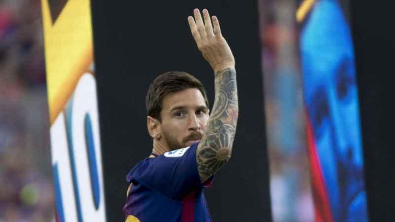 Barcelona'da Messi'den ayrılık açıklaması!