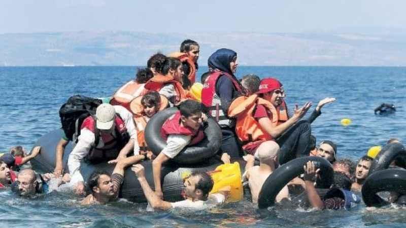 Çanakkale'de onlarca göçmen yakalandı!