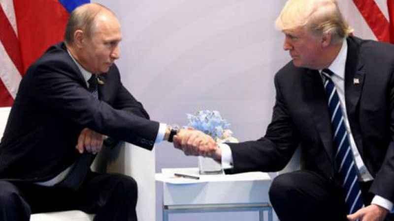 Trump'tan Putin'e teşekkür