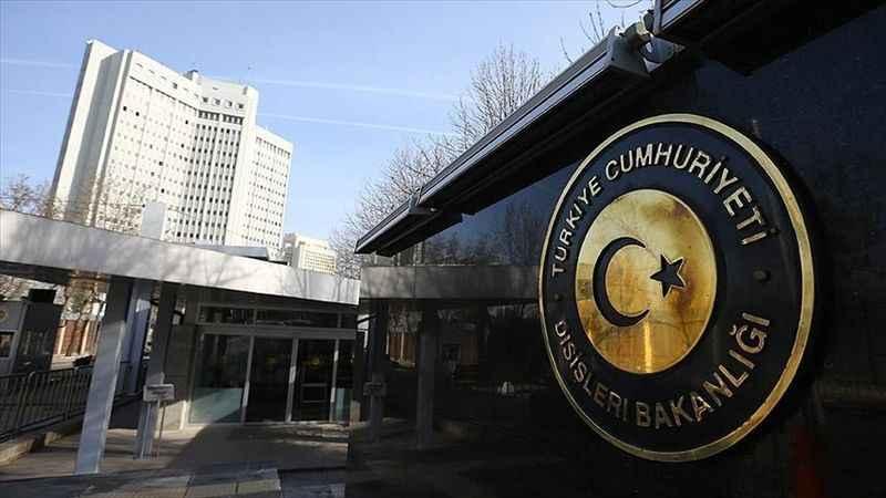 Türkiye'den Çin'e taziye mesajı