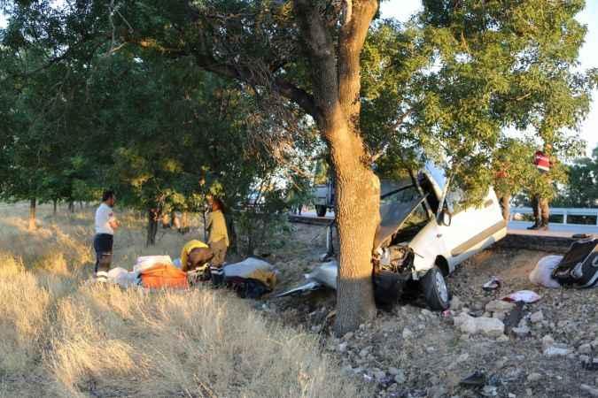 Karaman'da trafik kazası: 2 ölü, 2 yaralı