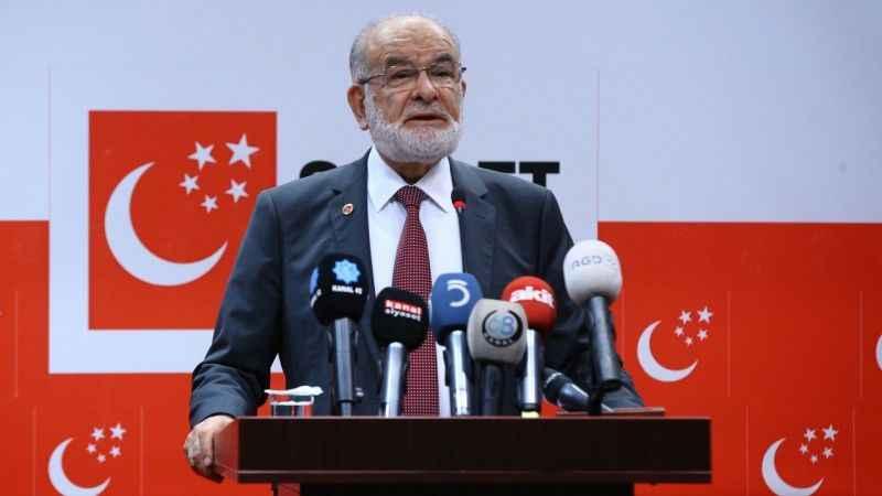 Saadet Partisi Genel Başkanı Karamollaoğlu'ndan SİHA çağrısı