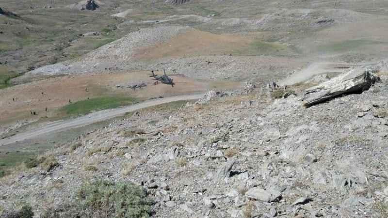 Erzincan'da terörist avı! İHA'lar buldu, F4'ler vurdu