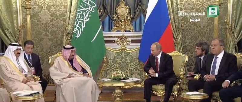 Putin: Kral Selman'ın ziyareti dönüm noktası niteliğinde