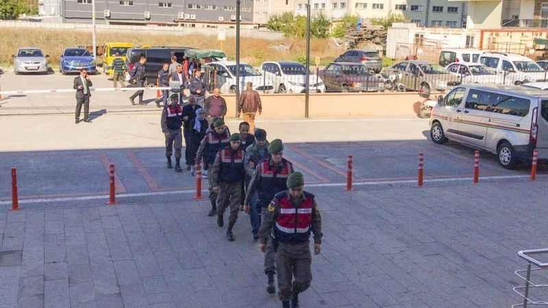 FETÖ şüphelilerinin Yunanistan sınırında yakalanması
