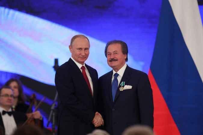 Putin'den Cavit Çağlar'a 'Devlet Nişanı'