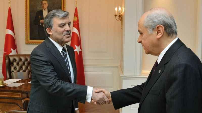 Abdullah Gül, AKP'yi eleştirdi! Tepki Bahçeli'den geldi